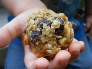 pb granola balls